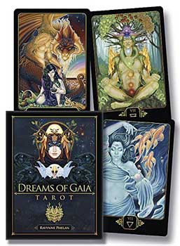 Dreams of Gaia deck & book by Ravynne Phelan