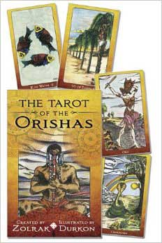 Tarot of the Orishas deck and book