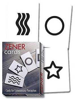 Zener cards (ESP test cards) - Click Image to Close