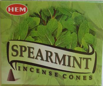 Spearmint HEM cone 10 pack