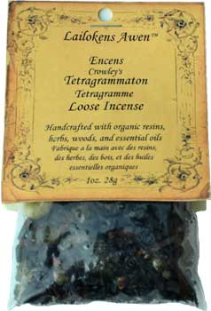 Crowley's Tetragrammaton Incense - Click Image to Close