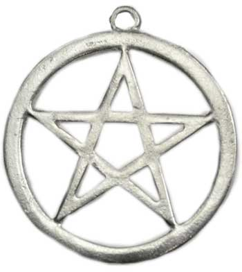 Large Pewter Pentagram