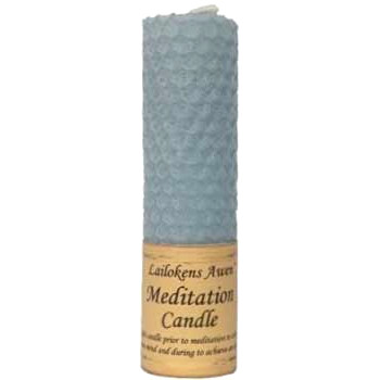 Beeswax Meditation Spell Candle