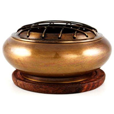 Brass Screen Incense Burner/Censer
