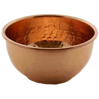 Small Copper Offering Bowl