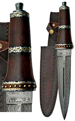 Persian Damascus Steel Athame
