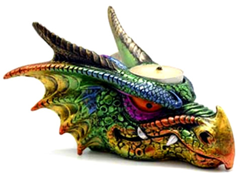Dragon Tealight Holder