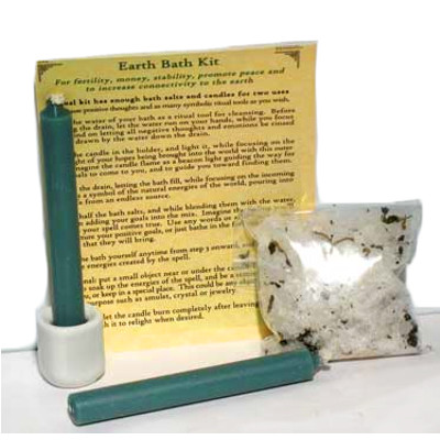 Earth Ritual Bath Kit