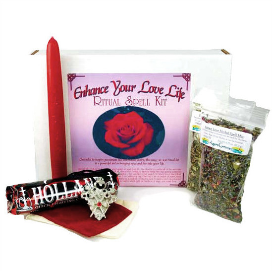 Enhance Your Love Life Ritual Spell Kit