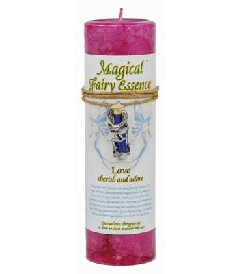 Fairy Dust Love Spell Candle and Talisman