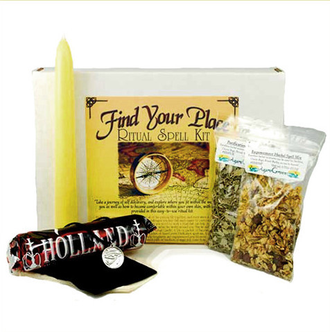 Find Your Place and Purpose Ritual Spell Kit