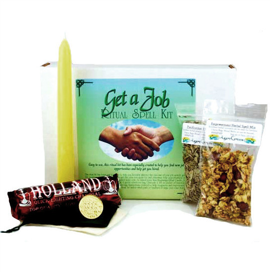 Get A Job Ritual Spell Kit