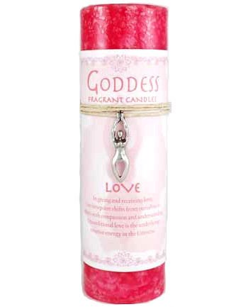 Goddess Love Spell Candle and Talisman
