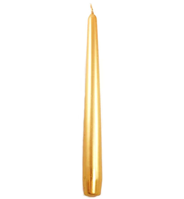 Gold Taper Candle