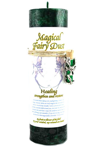 Fairy Dust Healing Spell Candle
