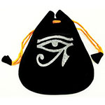 Eye of Horus Velveteen Pouch