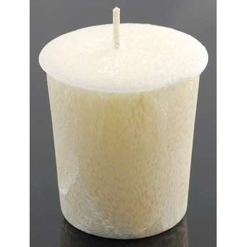 Ivory Votive Candle (Nag Champa Scent)