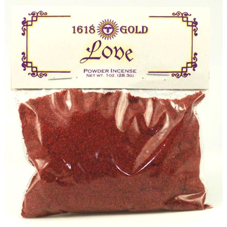 Love Powder Incense 1oz