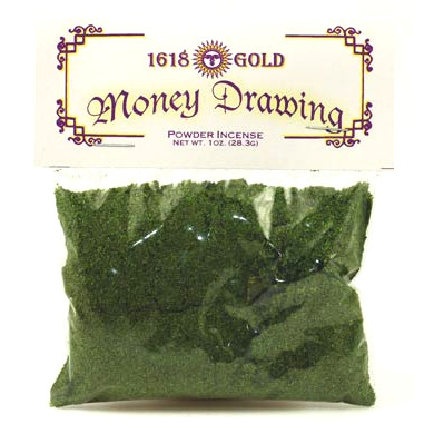 Money Drawing Powder Incense 1oz