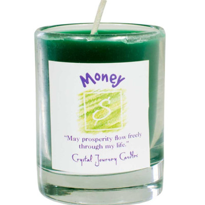 Money Herbal Magic Soy Candle