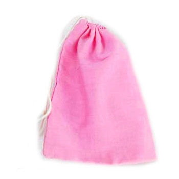 Pink Cotton Pouch