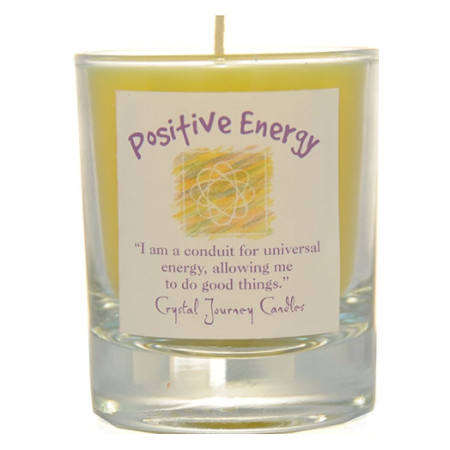 Positive Energy Herbal Magic Soy Candle