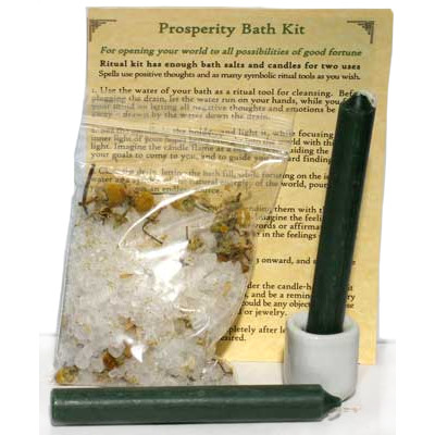 Prosperity Ritual Bath Kit