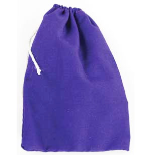 Purple Cotton Pouch