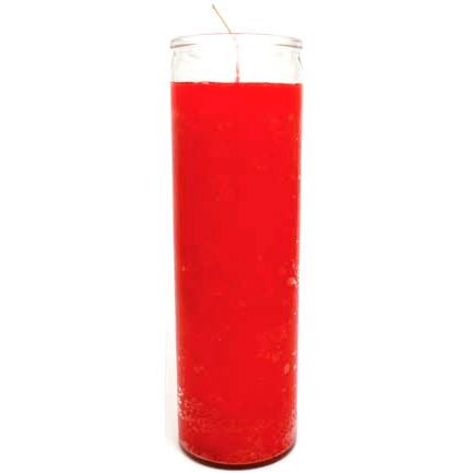Red 7 Day Jar Candle