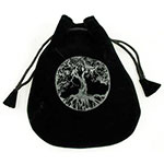 Tree of Life Velveteen Pouch