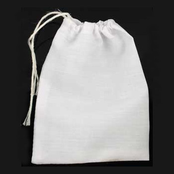 White Cotton Pouch