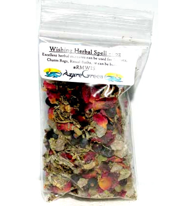 Wishing Herbal Spell Mix