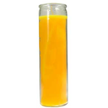 Yellow 7 Day Jar Candle